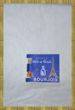 ANCIENNE CARTE + TUBE BOURJOIS SOIR DE PARIS NEUVE