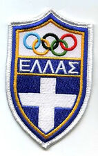 ATHENS 2004 OLYMPIC COLLECTION GREEK TEAM LOGO PATCH