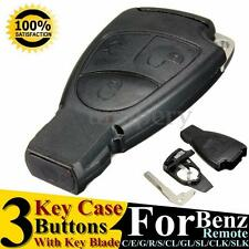 3 BOTÓN SMART REMOTE KEY LLAVE FOB PARA MERCEDES BENZ R C E S ML CL CLK CLS SLK