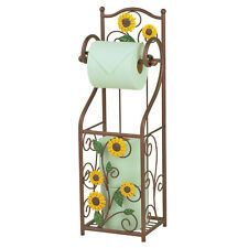 Sunflower Scroll Toilet Paper Holder, by Collections Etc