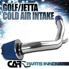 Fit 99-05 Golf Jetta Mk4 1.8T Turbo / 2.0L L4 Cold Air Intake Induction Blue