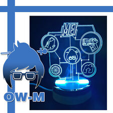 Overwatch Mei Cool Night Light Led 3DTable Lamp Decorate Lamp Present