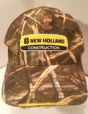 N Holland Construction Sport Hunt Woods Camo Ball CAP Flex Hat Cotton Visor