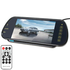 "7"" TFT LCD Color 16:9 HD USB Bluetooth MP5 FM SD AV Car Rear View Mirror Monitor"