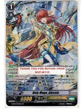 CARDFIGHT VANGUARD!! HOLY MAGE, ALESSIA SP NEW G-BT10/S09EN