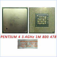 Intel Pentium 4 3.4 GHz 1M 800 MHz SL7PP/SL7E6 Processor Socket 478 Upgrade CPU