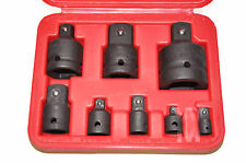 8 Piece Impact Socket Adapter Adaptor Reducer Step Up Down Tool Set UK seller
