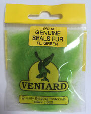 VENIARD Genuine Seals Fur Fly Tying Material - 24 COLOURS Trout/Salmon Flies