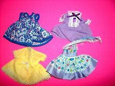 "Vintage small doll clothes for 7-8"" doll smaller than ginny type"