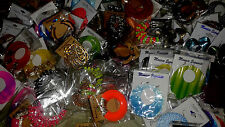 WHOLESALE LOT OF 120 PAIRS EARRINGS / NEW / INDIVIDUALLY PACKED