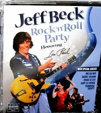 Jeff Beck ROCK N ROLL PARTY ! NEW! DVD, Les Paul , Brian Setzer