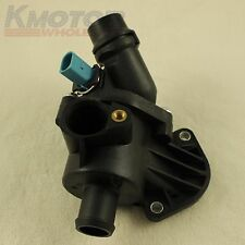 New Thermostat Housing with Sensor for Audi A4 Quattro 1.8L 06B121111K 2002-2006