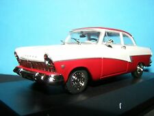 Ford Taunus 17 M in Duo Red/White finish 1:43RD Scale Whitebox Collectors Model
