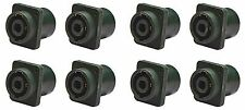 "(8 Pack) Procraft PC-TSC009 1/4"" Speakon Combo Jack Mono Connector, Neutrik mate"