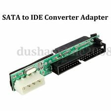 7+15Pin Female SATA SSD HDD Vers IDE 3.5'' 40 Pin Male Convertisseur Adaptateur