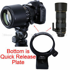 Tripod Mount Ring Camera Quick Release Plate for Nikon AF-S 70-200mm F/4G ED VR