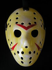 jason voorhees friday 13th hockey halloween plastic horror mask