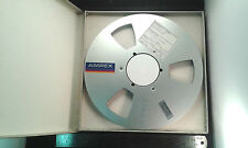 "10.5"" Empty NAB Reel-to-Reel Spool for 0.25"" 1/4 Inch Tape, Aluminium Flanges"