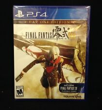 Final Fantasy Type-O HD Day One Edition (PlayStation 4) BRAND NEW / Region Free