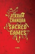 Sacred Games by Vikram Chandra (2007, Hardcover 1st Edition/DJ) -Free Shipping