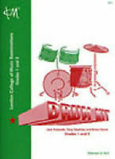 LCM Drum Kit Grades 1-2 Beginner Tutor Sheet Music Book London College Music S78