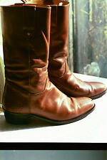 Gucci Boots Mens Cowboy 41 M with Original Gucci Box