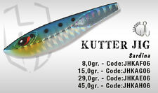 ARTIFICIALE KUTTER JIG 29 GR SARDINA HERAKLES COLMIC LURE METAL SPINNING MARE