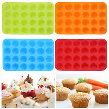 24 SILICONE LARGE MUFFIN YORKSHIRE PUDDING MOULD BAKEWARE CUP CAKE BAKING TRAY