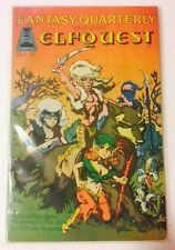 Fantasy Quarterly #1 White Pages 1st Elfquest by Richard & Wendy Pini Ungraded