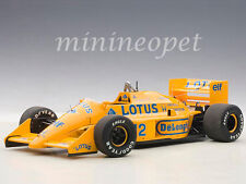 AUTOart 88727 LOTUS 99T HONDA F1 JAPANESE GP 1987 A.SENNA #12 1/18 YELLOW