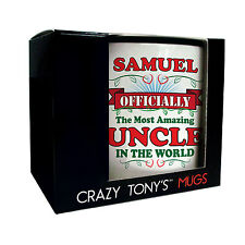 Amazing Uncle Mug, Personalised Gifts For Uncles, Uncles Birthday Present Ideas
