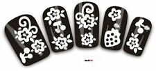 Nail Art Decals Transfer Stickers 3D Flowers Fruit Pieces Rhinestones (3D006)