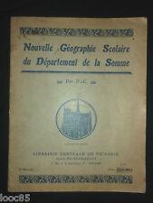 Nouvelle géographie scolaire du département de la Somme - Maison Poiré Choquet