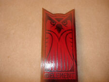 ELEMENT CRAZY OWL LOGO DIE CUT SKATEBOARD STICKER