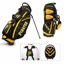 BRAND NEW Team Golf Pittsburgh Pirates Fairway Golf Stand Bag Black/Yellow 97128