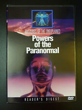 Mysteries of the Unexplained: Powers of the Paranormal (DVD*Reader's Digest)RARE