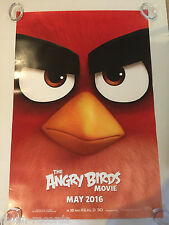 The Angry Birds Theater Original Movie Poster One Sheet DS 27x40