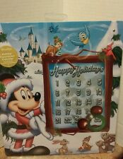 Santa Mickey Mouse Magnetic Advent Calendar Disney Store Exclusive! NWT!