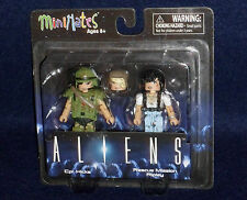 ALIENS MiniMates Series 1 CPL. HICKS & RESCUE MISSION RIPLEY Action Figure 2 PK