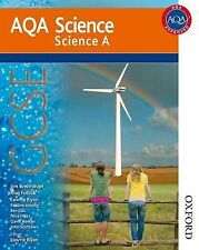 New AQA Science GCSE Science A: GCSE Student Book by Lawrie Ryan, Jim...