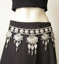 Tribal BELT | ats Belly dance Hip scarf Gypsy Boho Skirt Costume Banjara Vintage