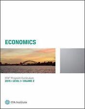 2015 CFA Program Curriculum Level I Volume 2 : Economics vol. 2 by CFA Institute