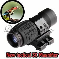 NEW Tactical 3X Magnifier FTS Flip To Side For Eotech Aimopint Similar Scopes
