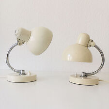 PAIR of KAISER IDELL 6722 Table Lamps CHRISTIAN DELL modernist BAUHAUS Art Deco