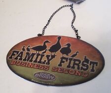 DUCK DYNASTY FAMILY FIRST BUSINESS SECOND CHRISTMAS TREE ORNAMENT DECORATIONS