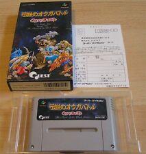 Super Famicom:  Ogre Battle - Episode 5 / Five