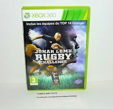 JEU XBOX 360 COMPLET JONAH LOMU RUGBY CHALLENGE REF 135
