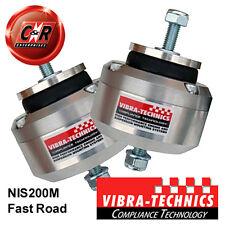 2 x Nissan 240SX S13(SR20)/14/15 Vibra Technics Engine Mounts Fast Road NIS200M