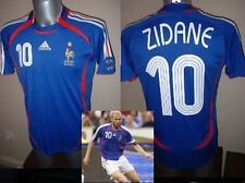 France adidas adulte petit zidane football soccer shirt jersey 06 vintage madrid