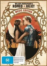 Romeo And Juliet - Music Edition [DVD], Region 4, Next Day Postage...4828*